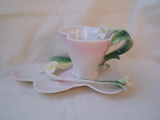 - Teetasse aus Porzellan -  * Calla Lily *  ORIGINAL Jameson & Tailor