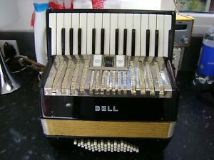 BELL 48 BASS ACCORDION  FREE UK COURIER