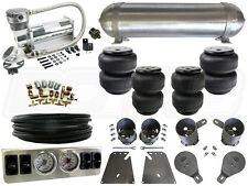 "Complete Air Ride Suspension Kit - 1958-1964 Chevy Impala 1/4"" LEVEL 1 - BCFAB"