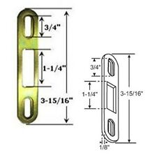 "Sliding Glass Patio Door Keeper, 3-15/16"" Height"