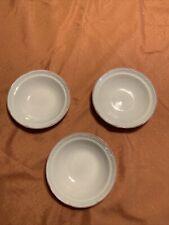 Vintage1988 Victoriana by JAPAN Set/3 Soup/Salad Bowls Pink Rimmed Nice!