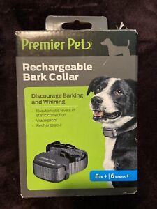 Premier Pet Rechargeable bark collar  GBC00-16296