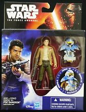"STAR WARS THE FORCE AWAKENS POE DAMERON ARMOR UP SNOW 3.75"" ACTION FIGURE"