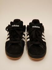 Adidas Campus SK Mens Suede Black White Skater Low Top Shoes Sneakers Size 11