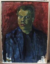 Gösta Wiberg 1900-1971, expressives Selbstportrait um 1930