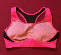Jockey Sports Bra Women Fushia Berry S Pullover Wire Free Racer Back Workout