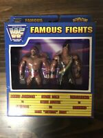 WWF WWE Justoys Bend-Ems Famous Fights Ahmed Johnson vs Faarooq (Ron Simmons)