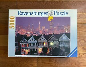 5000 Ravensburger SAN FRANCISCO SKYLINE Jigsaw Puzzle 1992