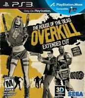 Playstation 3 PS3 Game House Of The Dead Overkill Extended Cut Brand New Sealed
