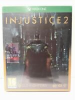 INJUSTICE 2 ULTIMATE Edition Steelbook - XBOX ONE - PAL UK Neuf / New & selead
