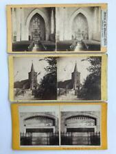 3 Early Stereoviews Isle of Wight