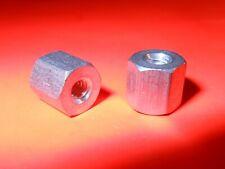 "(Qty 13 ) Standoff, Aluminum, 4-40 x 1/4"" Long, 1/4"" Hex, Female (F-F) Standoffs"