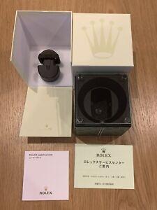 Rolex Green Jubilee Kubik Swiss Watch Winder 43090 New
