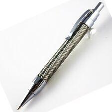 stylo bille argenté