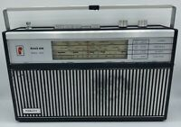 Vintage Fidelity RAD 29 Portable Transistor Radio With Mains Cables AFC FM SW MW