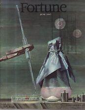 1947 Fortune June - Paramount Studios; Merck; Korea and Japan; Rubber; Steinberg
