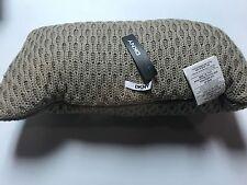"DKNY Loft Stripe Knit Decorative Linen Pillow Size 11"" x 22"""
