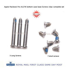 "New Apple Macbook Pro A1278 13"" 15"" 17 bottom case base Screws 10pc complete set"