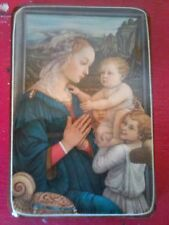 ANCIENNE TRES BELLE ICONE IMAGE PIEUSES RELIGION  MARIE 1980,