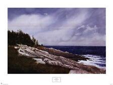 Sunday Evening by Albert Swayhoover 28x34 Seascape Poster COASTAL ART PRINT