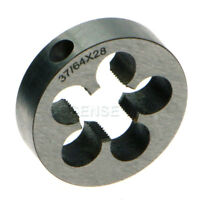 "New 37/64 - 28 Right Hand Thread Die .578""-28 High Quality"
