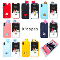 Official BTS BT21 Figure Phone Case Cover Authentic With BTS Random Photocard