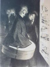 Original Maitres de L'Affiche Lithograph Poster TA Steinlen Special Plate 1898