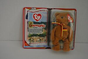 McDonalds Teenie Beanie Germania the Bear (Germany) (1999)