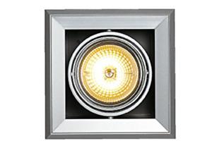 SLV 154012 Square Recessed Spot Light Fitting AR111 12V G53 LED max 50W