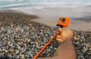 Waterproof Extension Pole Selfie Stick Monopod For Go Pro GoPro HERO 6 5 4 3 3.