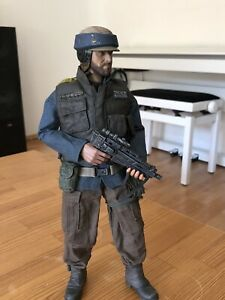 """Custom 1/6 scale Star Wars Rogue One Rebel Trooper, Sideshow, Hot Toys style 12"""""""