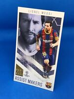 TOPPS BEST OF THE BEST 2020-21 20/21 SUPERSIZE ASSIST MAKERS LIONEL MESSI