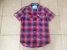 SUPERDRY     Slim Fit Casual Check Shirt     Size M