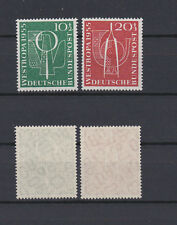 GERMANY BUND 1955 philatelic exposition Westropa Mint ** B342-B343 (Mi.217-218)