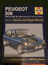 HAYNES WORKSHOP MANUAL 3073 PEUGEOT 306 1993 TO 1995 K TO N REG .