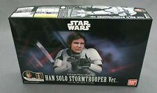 Star Wars Plastic Model Kit 1/12 Han Solo Stormtrooper Ver. Bandai NEW***