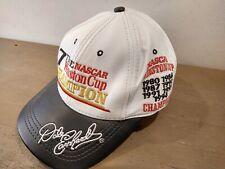 Vintage Dale Earnhardt Hat Cap Leather Nascar 7 Time Winston Cup Champion