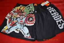 1 Men's New Marvel Comics Heroes Boxer, Medium, 100% Cotton
