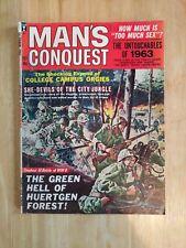 Man's Conquest, October 1963 (Vol. 8, No. 4)