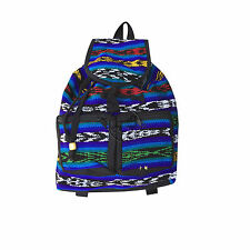 "Reggae Vibe Rasta Surfer Hawaii Backpack Sack Tote Bag Hippie Jamaica Marley 17"""