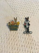 Vintage WB Looney Tunes Pins - Bugs Bunny & Friends 1989 gift creations
