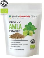 Organic Amla Powder (Indian Gooseberry, Natural Vitamin C, Hair) Choose Size: