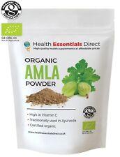 Organic Amla Powder (Indian Gooseberry, Natural Vitamin C, Hair) Choose Size: