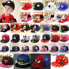 Baby Toddler Kids Peaked Baseball Summer Cap Hat Boys Girls Snapback Cartoon UK