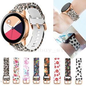 For Samsung Galaxy Watch 3 41mm Sport Silicone Watch Band Soft Strap