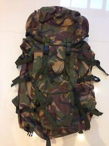 genuine British army DPM IRR Infantry long Bergen/rucksack!very good-grade 1!