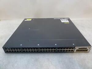 Cisco Catalyst 3560-X Series PoE+ 48-Port Managed Switch}