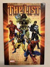THE LIST - Graphic Novel Hardcover - Marvel