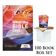 What The Bible Says (100 Book Box Set)