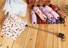 Short Handle Folding Umbrella Sun Umbrella Couple Portable Mini Umbrella